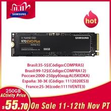 Samsungssd 1TB m.2 m2 ssd 1tb 250gb ssd 500gb 970 evo mais hhd nvme disco rígido interno de estado sólido 2280 mlc pcie para portátil