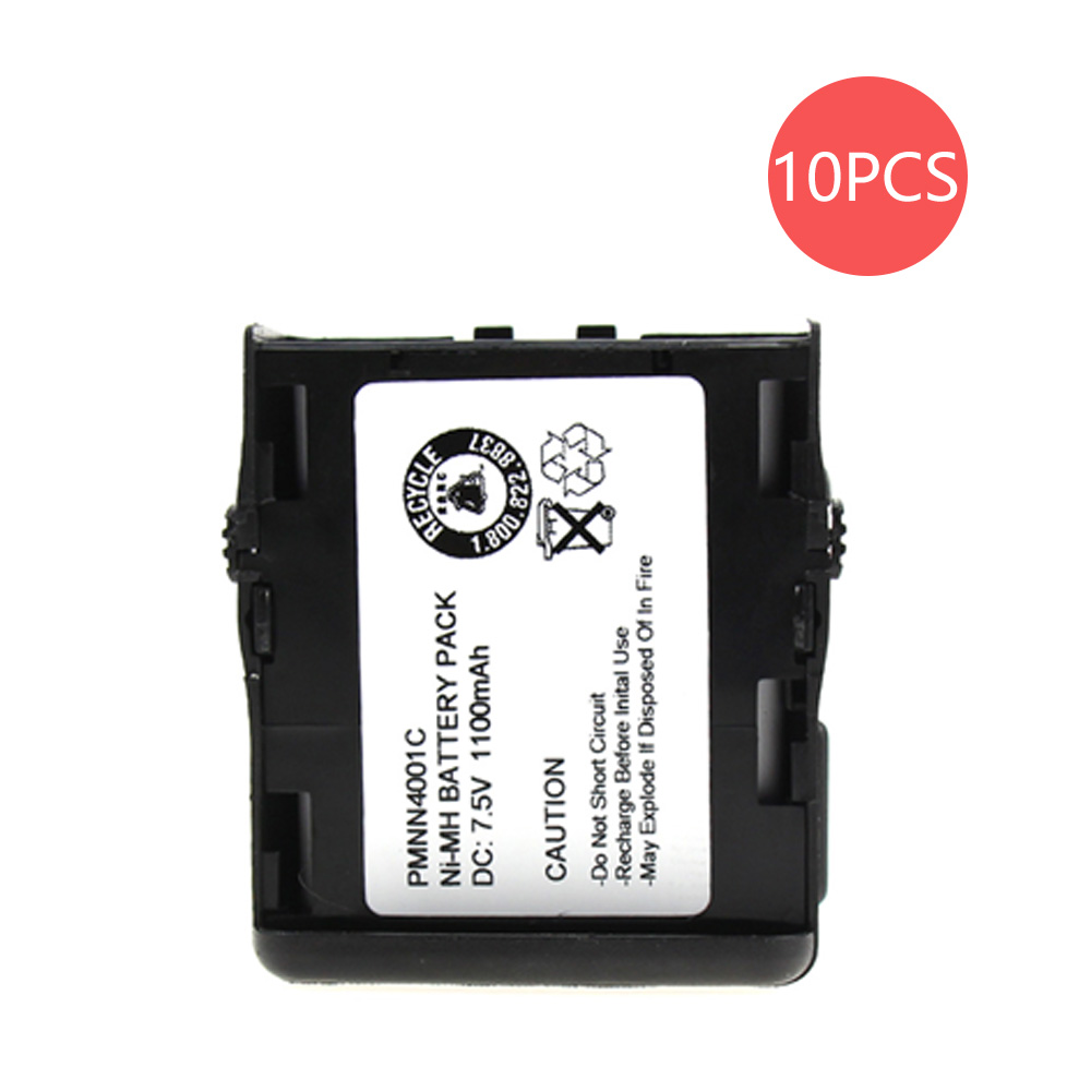10X PMMN4001 1100mAh Battery For Motorola GP68 GP-688