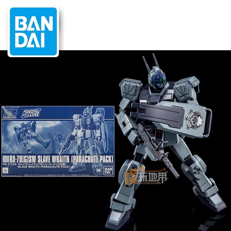 Original Model HG 1/144 RX-79[G]SW SLAVE WRAITH [PARCHUTE PACK]  Gundam  Mobile Suit Gundam  Kids Toys
