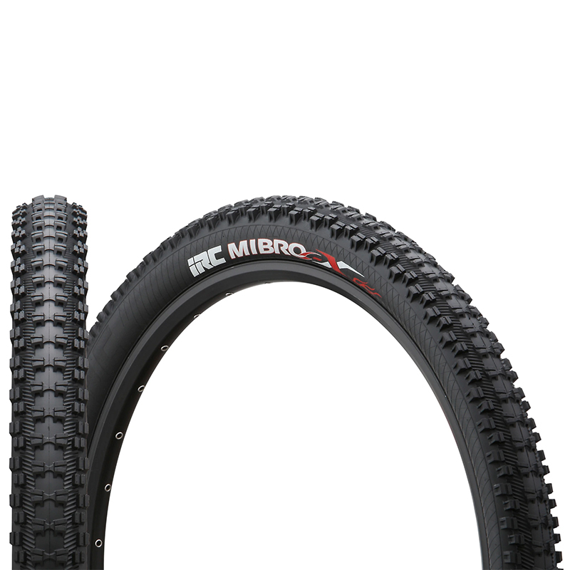 IRC MIBRO-X Tire MTB Bicycle <font><b>26x2.25</b></font> 26x2.4 all-terrain all-mountain MTB bike Foldable Tyre Black image