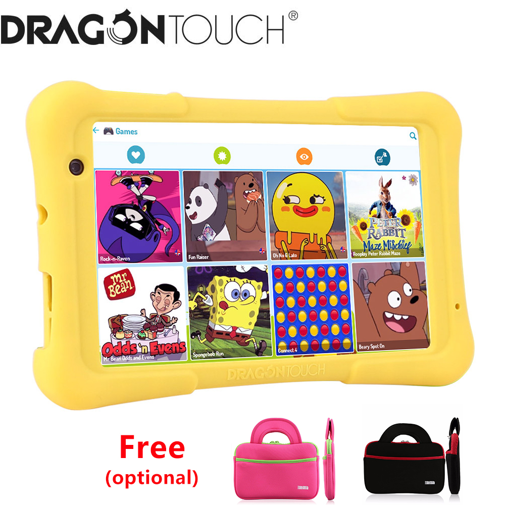 Dragon Touch Y80 Kids Tablet 8 Inch HD Display 2 In 1 Android 8.1 Tablet For Children 2GB RAM 16GB Quad Core IPS Wifi PC Tablet
