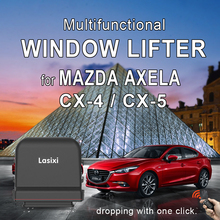 power window closer for Mazda ATENZA CX4 roll up lifter multi-function auto mirror folder switch  remote operation
