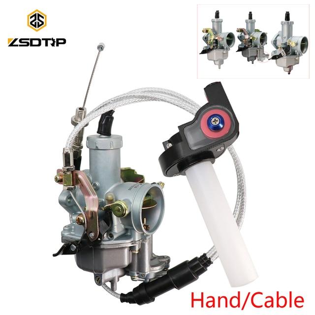 ZSDTRP PZ30 Vergaser + Kabel + Griffe Für Keihin Motorrad PZ30 Vergaser 175CC/200CC/250CC Hand/Kabel VM26 Vergaser 3 stücke