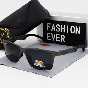 Image 3 - Polarized glasses Sunglasses UV400 Classic Brand Sun glasses Driving Mens designer masculino Male Mirror Eyewear
