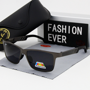 Image 3 - نظارة بعدسات مستقطبة نظارات شمسية UV400 ماركة كلاسيكية نظارات شمسية القيادة رجالي مصمم masculino ذكر مرآة نظارات