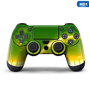 Image 2 - Sky Full Cover Controller Stickers For Playstation 4 Dualshock 4 Gamepad Vinyl Skins Decals Play Station 4 Skin