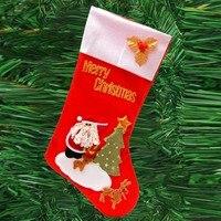 Candy Gift Bag Christmas Socks Cartoon Pattern Funny Socks Meias Socks Christmas Decoration Hanging Sock Christmas socks
