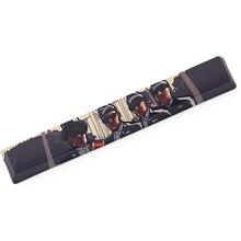 Novelty allover dye subbed Keycaps spacebar pbt custom mechanical keyboard Coffin Dance  Dancing Pallbearers meme