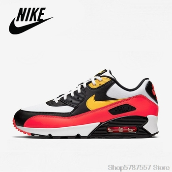 NIKE AIR MAX 90 ESSENTIAL Running Shoes for Women Classic Outdoor Sports Size 36-39