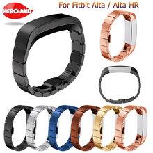 Ремешок из нержавеющей стали для смарт часов fitbit alta frontier/classic