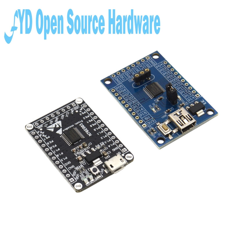 N76E003AT20 Microcontroller <font><b>Development</b></font> <font><b>Board</b></font> N76E003 51 C51 Expansion <font><b>Board</b></font> <font><b>8051</b></font> Core System <font><b>Board</b></font> Single Chip Microcomputer image