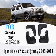 Mud flaps for Suzuki jimny 2005 2018 Mudguards Fender jimny Mud flap splash Guard Fenders Mudguard car accessories Front Rear