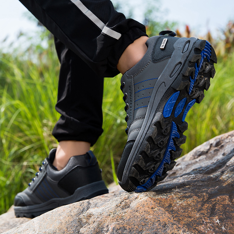 Image 4 - Winter Mens Popular Casual Shoes Black Leather Classic Warm Climbing Footwear Summer Mesh Sneakers Women Outdoor Running ShoesMens Casual Shoes   -