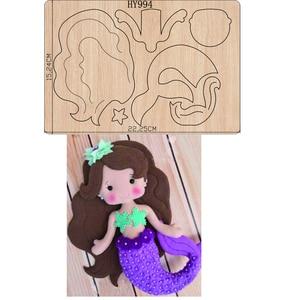 Image 1 - Mermaid การ์ตูนใหม่ตัดตาย 2019 ใหม่ die cut & ไม้ตายเหมาะสำหรับทั่วไป die ตัดเครื่องบนตลาด