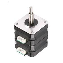 Motor de passo híbrido de 1.8 graus 42/17hd série de dupla camada tem longa vida, operação estável e baixo nível de ruído