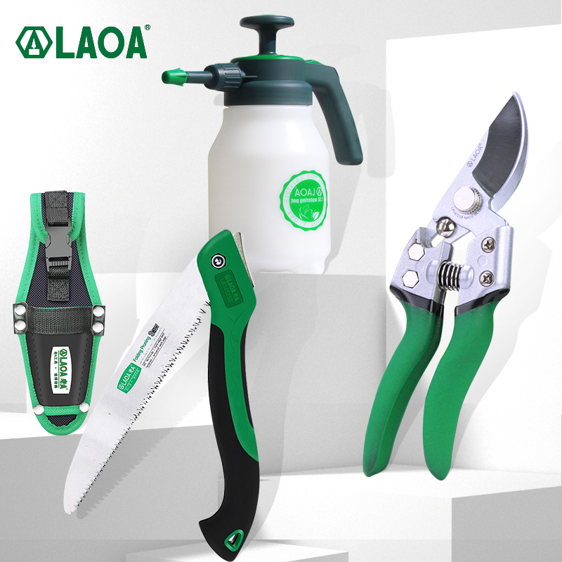 LAOA SK5 Pruning Shears Garden Fruit Tree Branch Plant Trimming Scissors Fruit Picking Tools Rose Clippers