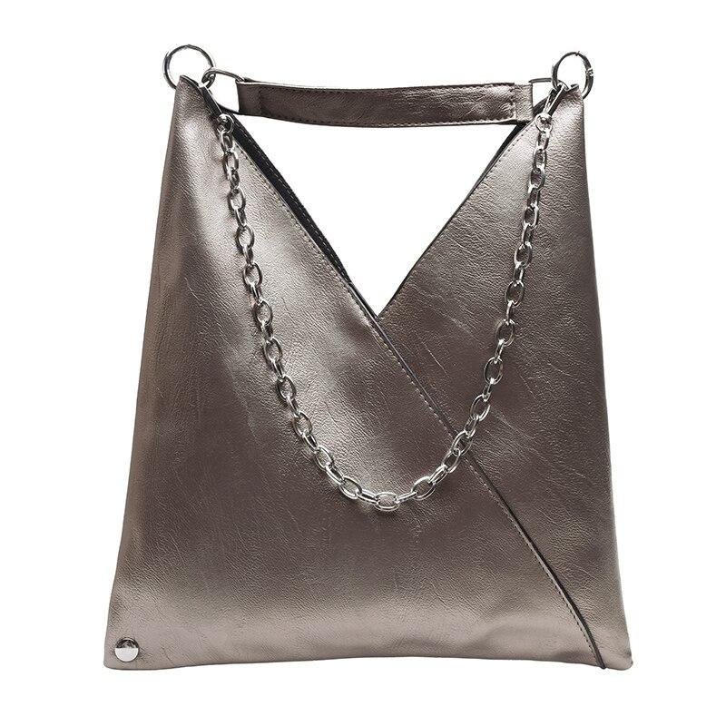 Nouvelle mode en cuir Hobos Crossbody sacs pour femmes 2019 femme Designer luxe grande capacité chaîne fourre-tout sac à bandoulière Bolso Mujer