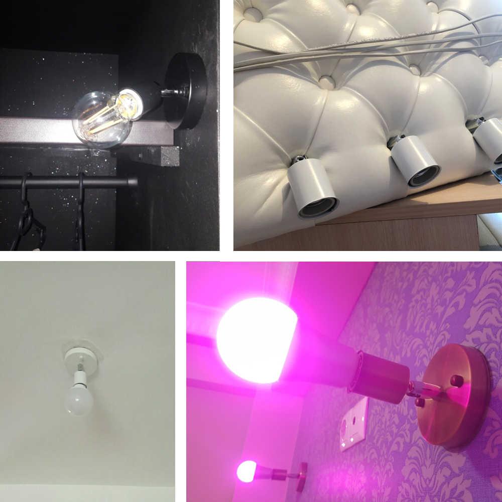 Arandelas de parede 180 graus direção diy luzes de parede luminária moderna lâmpadas de parede barra restaurante quarto decorativo iluminação para casa