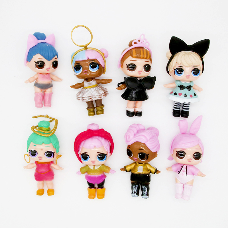 Originale Lol Surprise Action Figure Doll Toy Girls Clothes Accesorios Kids Christmas Halloween Birthday Accesorios Decoration