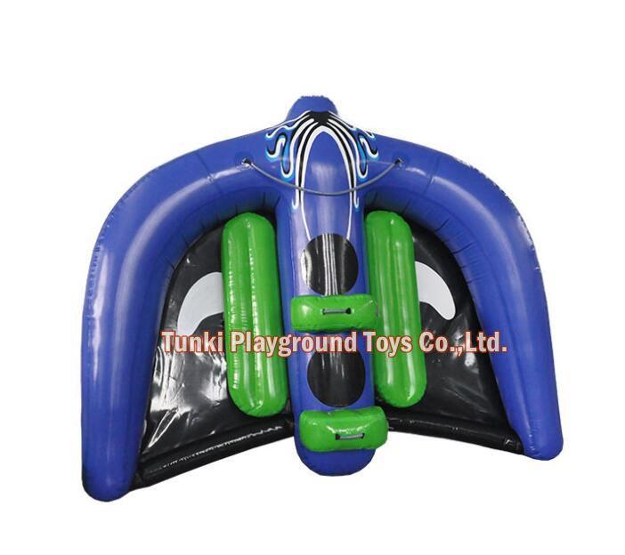 Bateau gonflable de Tube de Ski de cerf-volant d'eau de rayon de Manta de vol de PVC à vendre