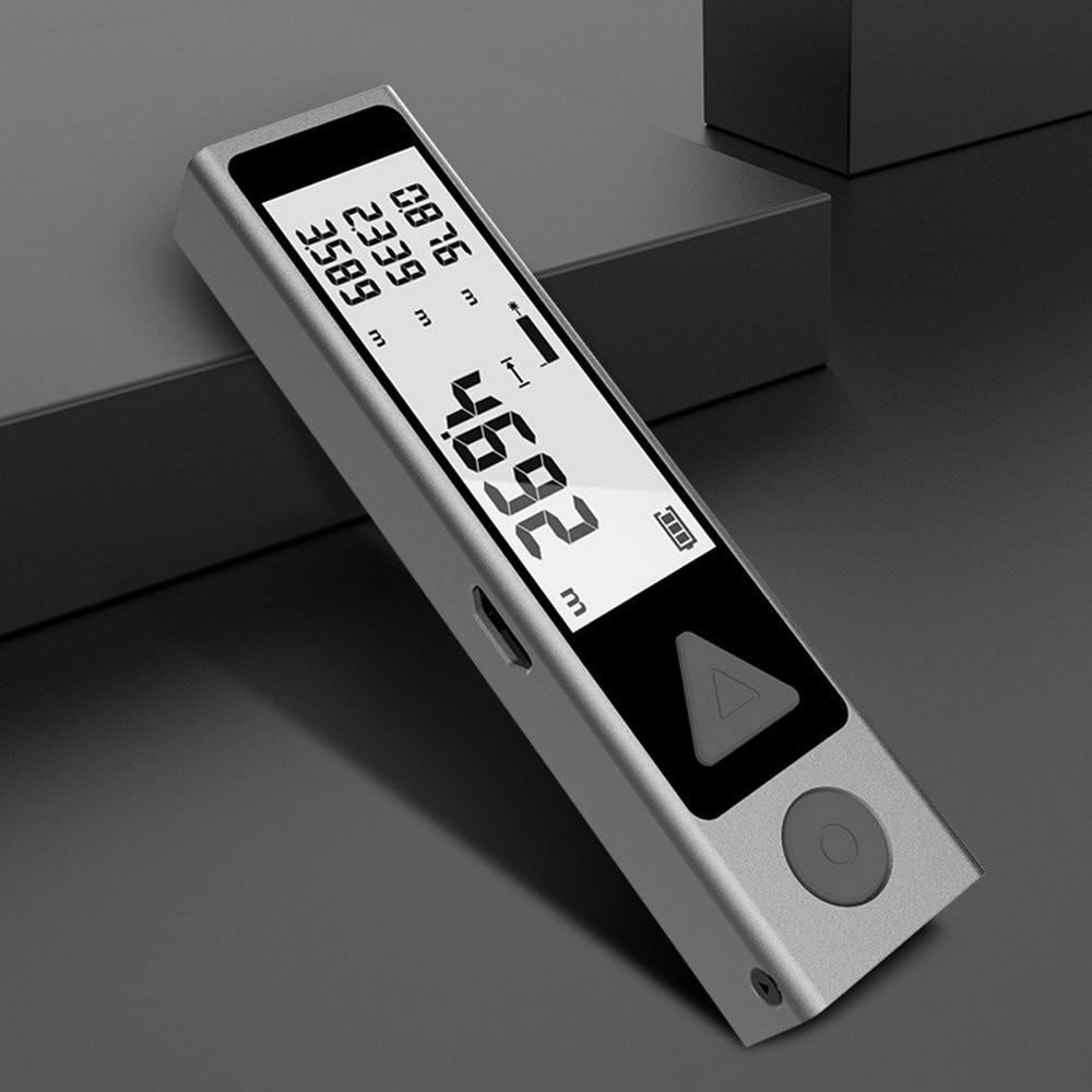 Laser Laser Upgrade  Professional Laser Metro With Rangefinder Bluetooth Mileseey Mini Measure Rangefinder Distance Tape Meter