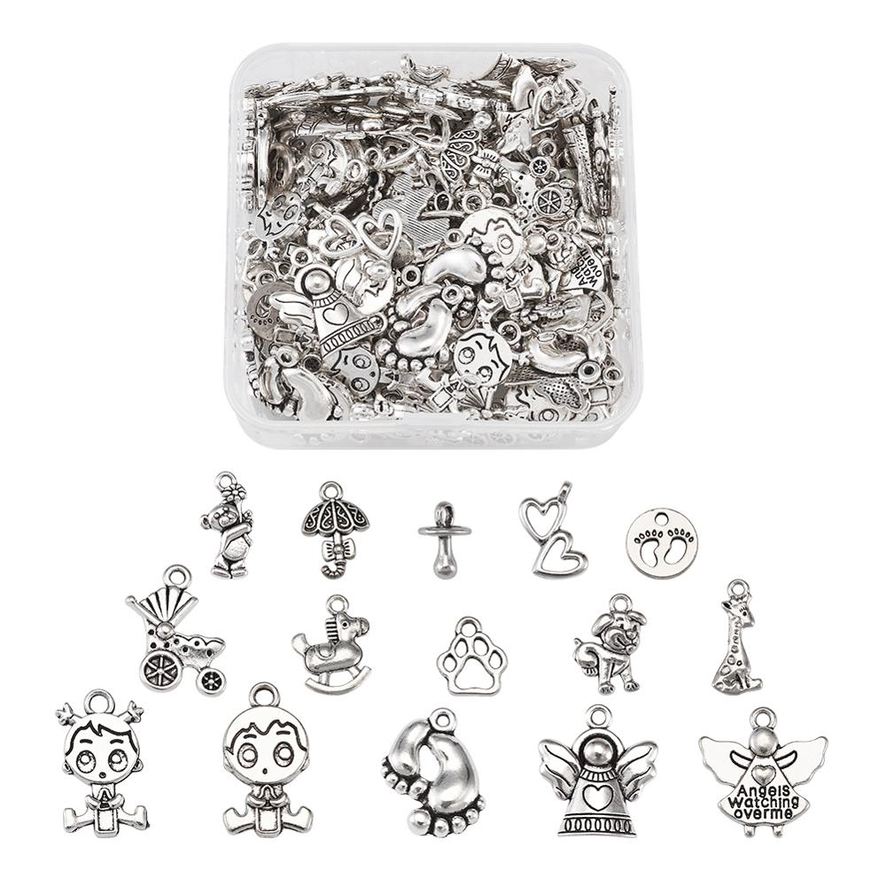 10g Platinum Tone Iron Bead Tips Knot Covers Jewelry Findings Necklace Craft