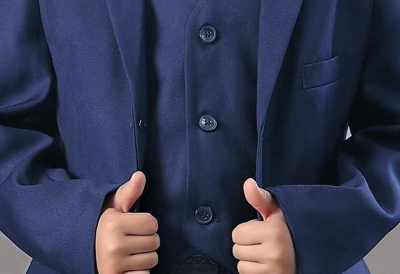 Bruiloft Jas Voor Bloem Jongens Kids Formele Verjaardagsfeestje Blazer Broek Jurk Smoking Kinderen Piano Ceremonie Kostuum