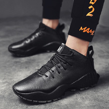 Spring/Autumn New Men Shoes Brand Fashion Casual Designer Sneakers Run Shoes Leather Lace-up Breathable Non-slip High Quality mycolen luxury designer men shoes brand spring autumn new mens black casual shoes lace up personality fashion men shoes