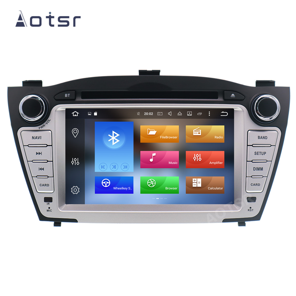 AOTSR <font><b>2</b></font> <font><b>Din</b></font> Android 10 <font><b>Car</b></font> <font><b>Radio</b></font> <font><b>For</b></font> <font><b>Hyundai</b></font> IX35 <font><b>Tucson</b></font> 2009 - 2018 Central Multimedia Player GPS Navigation 2Din DSP Autoradio image