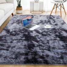 Soft-Carpet Room-Mat Decor-Area Plush-Rug Gray Anti-Slip Living-Room Fluffy Thick Kids
