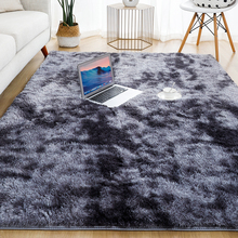 Soft-Carpet Room-Mat Decor-Area Plush-Rug Gray Anti-Slip Living-Room Fluffy Thick Kids