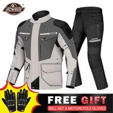 LYSCHY – veste de Moto imperméable et respirante, pour l'été