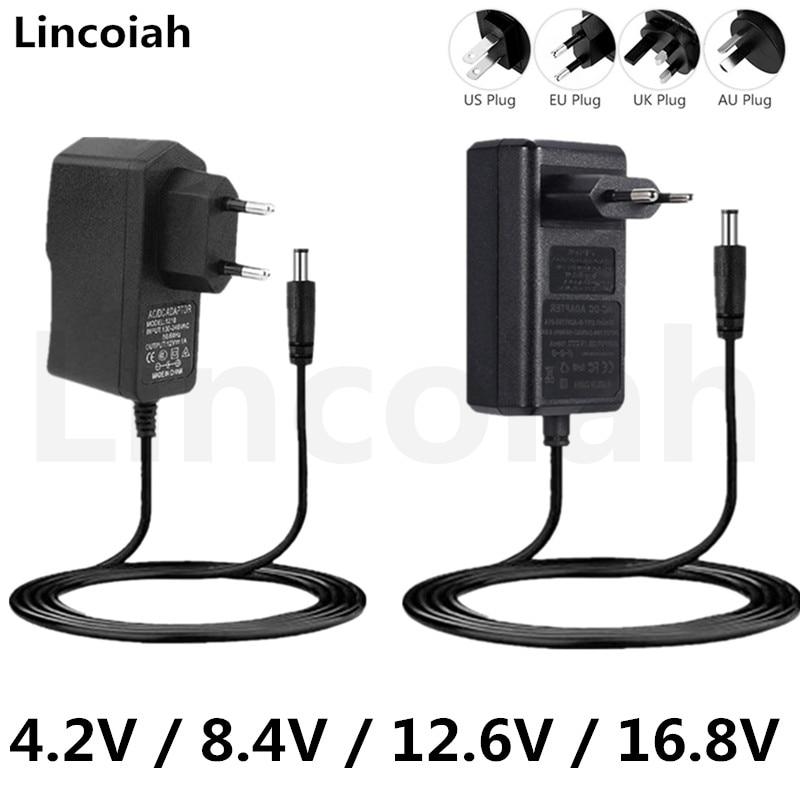 4,2 V 8,4 V 12,6 V 16,8 V 1A 2A адаптер Питание Зарядное устройство для DEKO лазерный нивелир дрель отвертка 18650 Литий Батарея