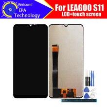 6.3 인치 LEAGOO S11 LCD 디스플레이 + 터치 스크린 디지타이저 어셈블리 S11 + 도구 용 100% 오리지널 LCD + 터치 디지타이저