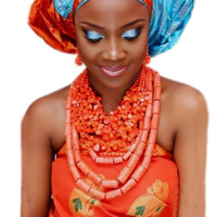 Dudo Water Drop African Beads Real Coral Jewelry Necklace Set With Bracelet and Earrings Luxury Nigerian Wedding Jewellery Set
