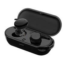 New TWS Wireless Mini Bluetooth Earphone For Xiaomi Huawei Mobile Stereo Earbud Sport Ear Phone With Mic Portable Charging Box ttlife wireless wired bluetooth earphone tf card sport stereo music subwoofer headphone with mic for android phone xiaomi huawei