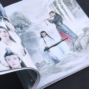 Image 3 - Untamed تشن تشينغ لينغ اللوحة كتاب البوم وي Wuxian ، Lan Wangji ألبوم صور شخصية ملصق المرجعية نجمة حولها