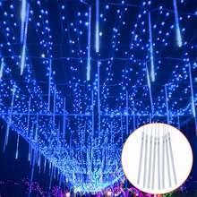 Метеоритный дождь светильник светодиодные трубки рождественские