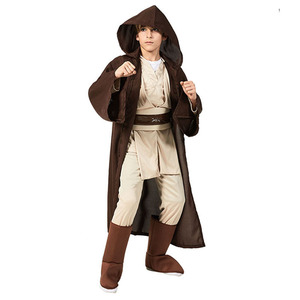 Image 2 - Star Rey War Cosplay Costume Kids Jedi Warrior Obi Wan Kenobi Black Soldiers Storm Troopers The Force Awakens Girls Fancy Dress