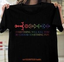 Меч D20, все может вас убить, поэтому выберите какую-то забавную рубашку