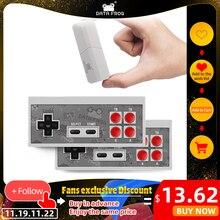ข้อมูลกบRetroคอนโซลวิดีโอเกม8บิตในตัว1400เกมคลาสสิกMiniคอนโซลไร้สายสนับสนุนAV/HDMIเอาต์พุตDual Gamepads