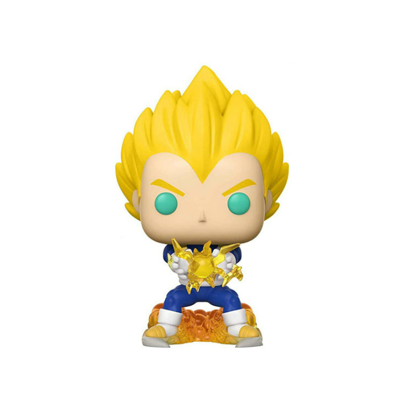 Funko Pop Dragon Ball Super Action Vegeta Anime Figure Model Pvc Collection Toys For Kids Christmas Birthday Gifts Vinyl Doll