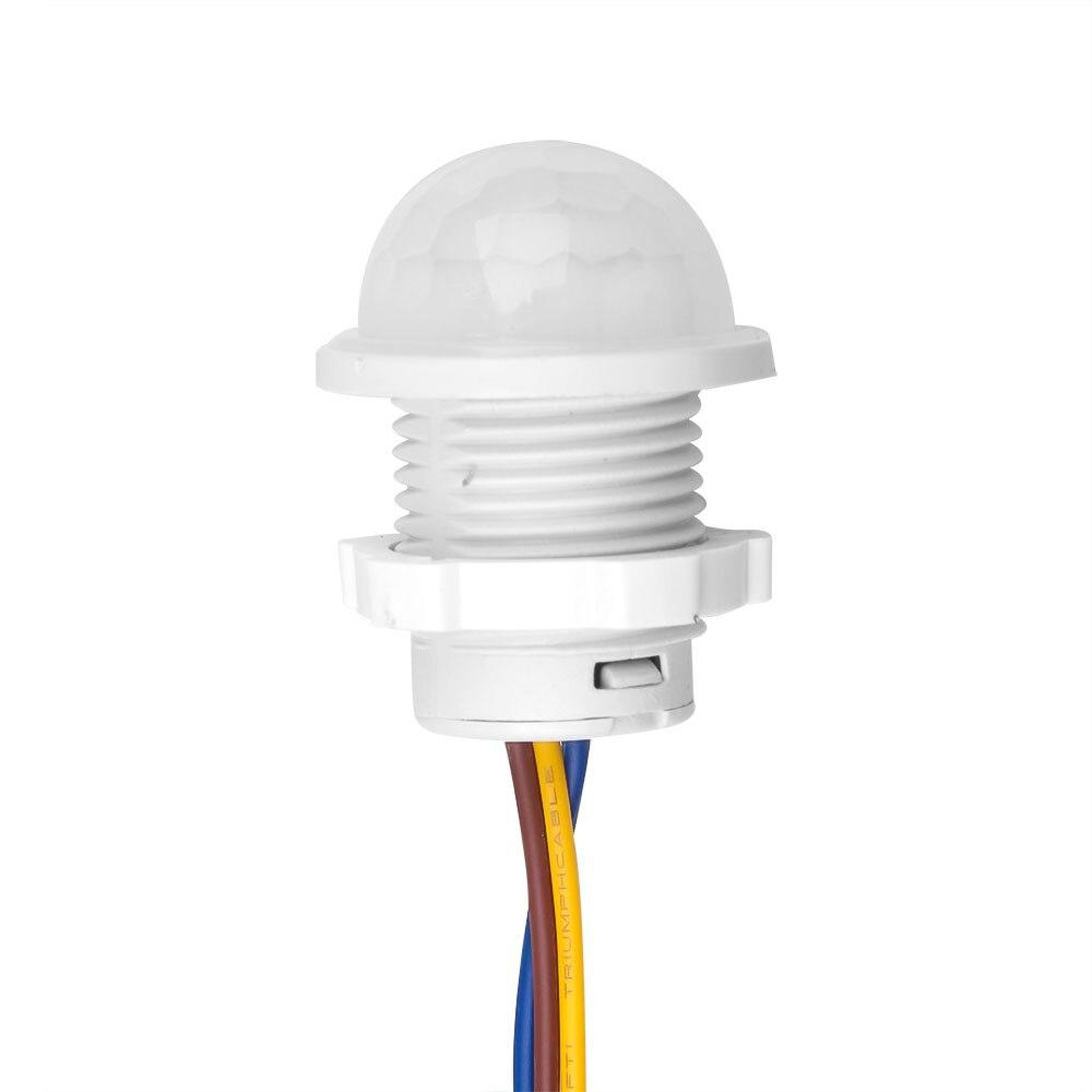 Kebidu, interruptor de luz de 110V 220V, Sensor PIR, interruptor inteligente LED de 110V 220V, Sensor de movimiento por infrarrojos PIR, interruptor de encendido automático