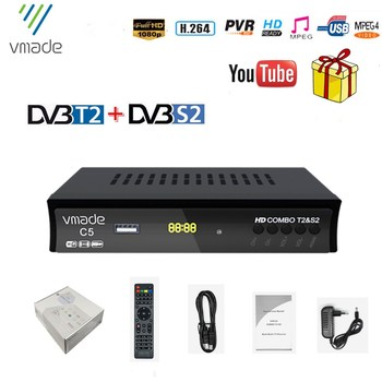 u2c mini tv stick dvb t t2 youtube hdmi wifi pvr h 264 1080p simple than android digital tv set totp box for dvb t2 FULL HD DVB T2 S2 Combo Digital Terrestrial Satellite TV Receiver Combo DVB T2S2 H.264 MPEG2/4 support IKS PVR biss key YouTube