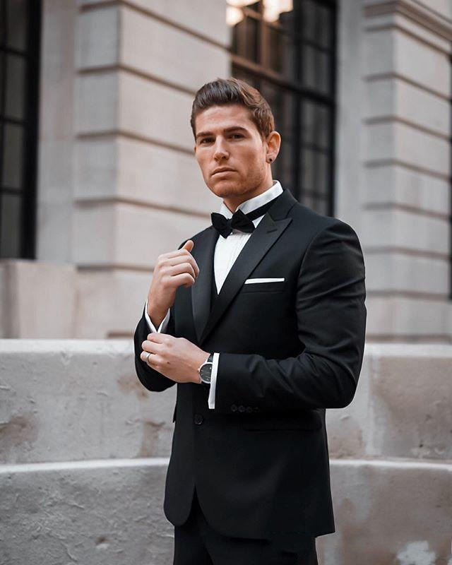 handsome-black-wedding-tuxedos-peaked-lapel-slim-fit-two-button-groom-wear-formal-party-prom-men-suit-blazer(jacket+pants) (1)