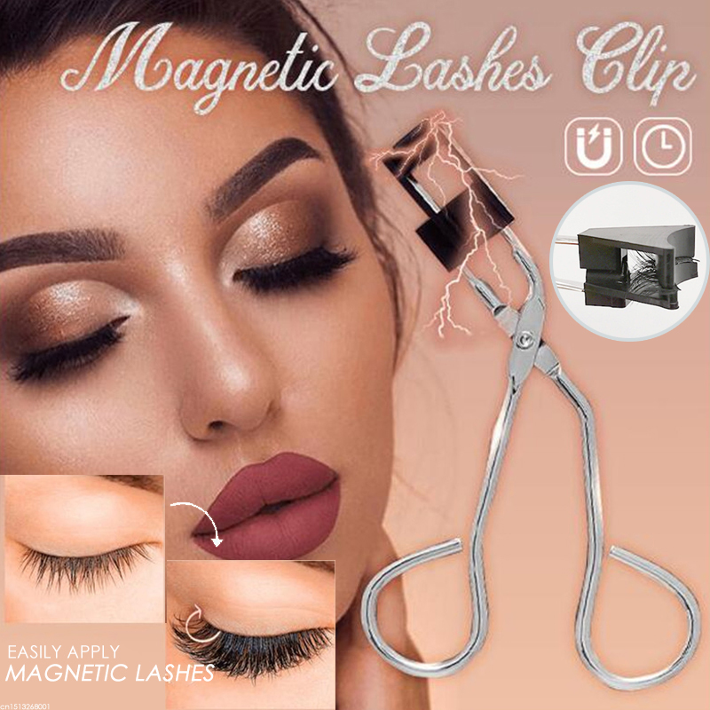 Magnetic Eyelash Clip&Curler Set