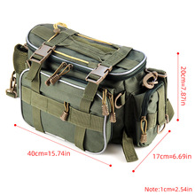 Multifunctional Fishing Tackle Bag Outdoor Sports Single Shoulder Bag