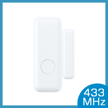 Door Window Sensor Wireless 433MHz Magnetic Switch Contact Detector Signaling for Intruder home Security Alarm System цена 2017