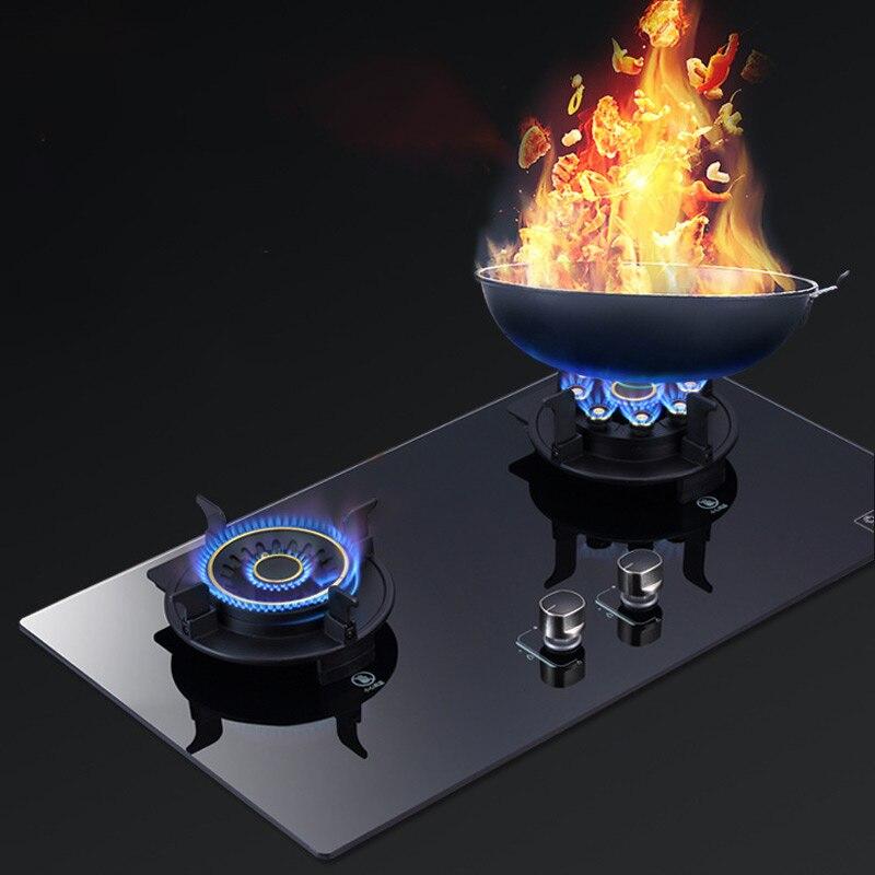 Cuisinière à gaz intégrée de table cuisinière à gaz à économie dénergie domestique cuisinière à gaz liquéfié naturel
