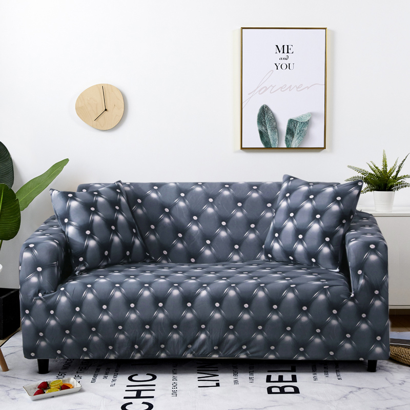 Купить 1/2/3/4 местный геометрические диван крышка эластичный стрейч